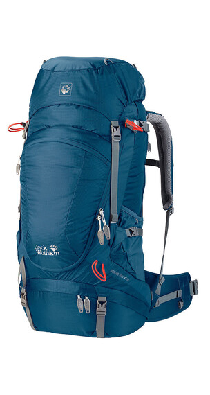 Jack Wolfskin Highland Trail XT 50 - Sac à dos randonnée - Bleu pétrole